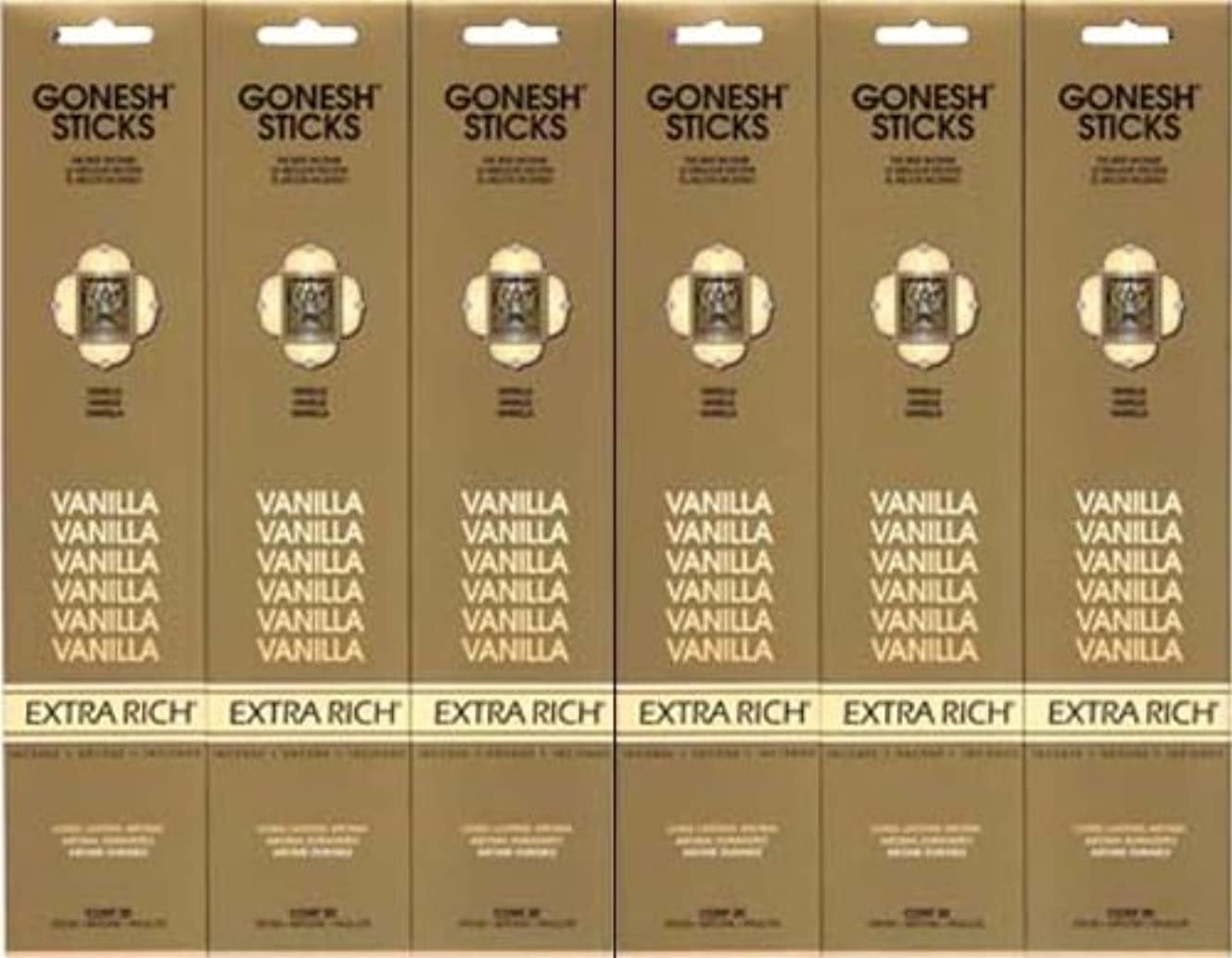 符号幸運な湾GONESH  VANILLA バニラ  20本入り X 6パック (120本)