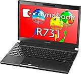 【中古】 ダイナブック dynabook R731/D PR731DAANRBA51 / Core i5 2520M(2.5GHz) / HDD:250GB / 13.3インチ / ブラック