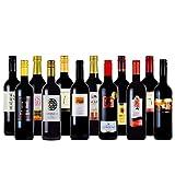 赤ワイン12本セット 赤字覚悟の赤ワインセット スペイン 南アフリカ チリ オーストラリア飲み比べ 金賞ワイン入り 750mlx12本