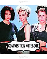 Composition Notebook: Bananarama English Female Pop Music Vocal Duo Pop And Dance Guinness World Records, Writing Workbook for Teens  Children, Man, Woman Paper 7.5 x 9.25 Inches 110 Pages, Ruled lined Paper for Taking Notes.