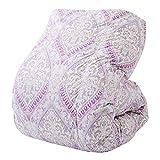 西川(Nishikawa) 羽毛布団 ピンク シングル ウクライナシルバーグースダウン90% 日本製 クレセント KA09005004B1