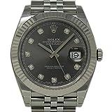 ロレックス デイトジャスト II スイス製 自動巻き メンズ 腕時計 126334 (認定済 中古品)
