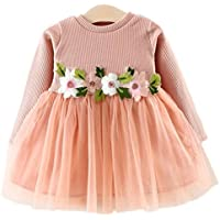 Cute Baby Girls Dress Flower Princess Prom Tulle
