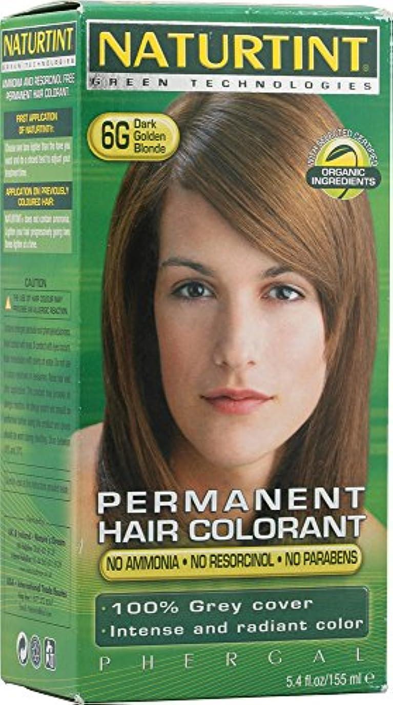 起きろ陽気な薄暗いNaturtint Dark Golden Blonde Hair Color (6G) (並行輸入品)