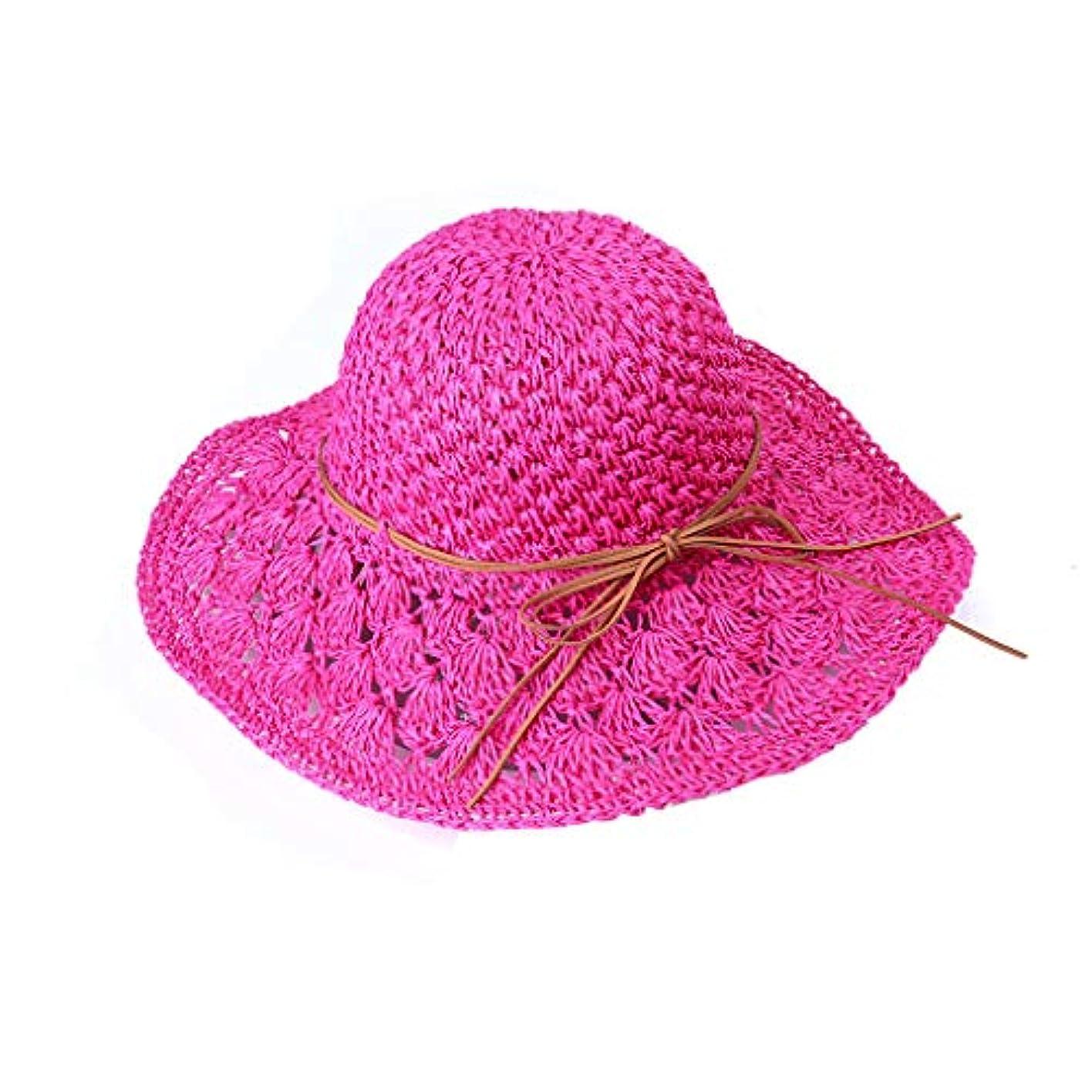 偏心泣くオーク帽子 レディース UVカット uv帽 熱中症予防 広幅 取り外すあご紐 スナップ収納 折りたたみ つば広 調節テープ 吸汗通気 つば広 紫外線カット サファリハット 紫外線対策 おしゃれ 高級感 ROSE ROMAN