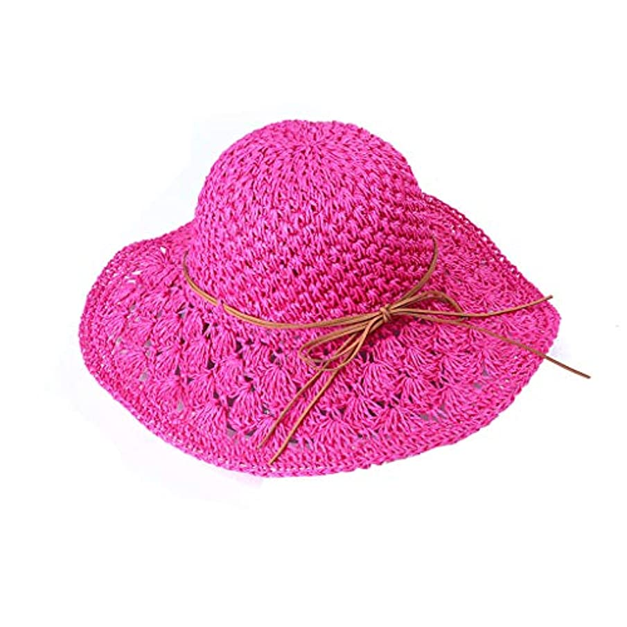 叫ぶスケッチ前任者帽子 レディース UVカット uv帽 熱中症予防 広幅 取り外すあご紐 スナップ収納 折りたたみ つば広 調節テープ 吸汗通気 つば広 紫外線カット サファリハット 紫外線対策 おしゃれ 高級感 ROSE ROMAN