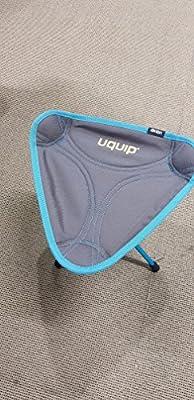 Uquip Folding Stool Three Sixty Mini - Ultra-Light, 360° Swivel