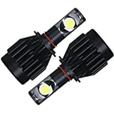 GTX ブラックナイト LEDヘッドライト HB4 6000K LEDフォグランプ 36W 3600LM 1年保証