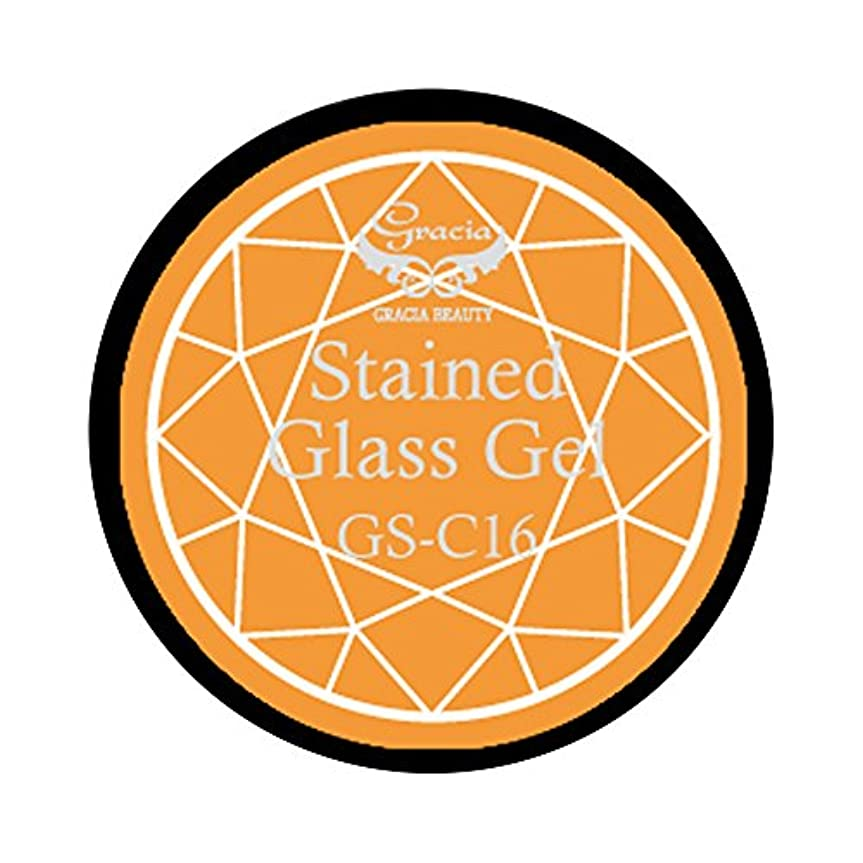 食い違い作物ライングラシア ジェルネイル ステンドグラスジェル GSM-C16 3g  クリア UV/LED対応 カラージェル ソークオフジェル ガラスのような透明感