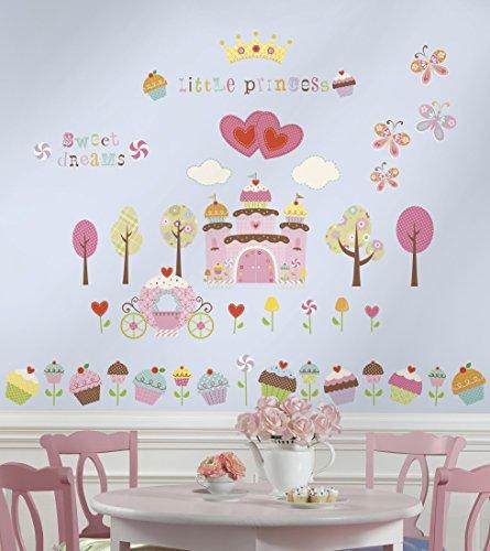 RoomMates ウォールステッカー ウォールステッカー Cupcake Land カップケーキランド RMK1605SCS