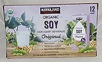 カークランド オリジナル プレーン ソイミルク (有機調整豆乳) 946ml×12本