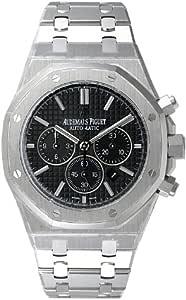 [オーデマ・ピゲ] AUDEMARS PIGUET 腕時計 ロイヤルオーク クロノグラフ 26320ST.OO.1220ST.01 ブラック メンズ[並行輸入品]