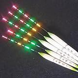 k-outdoor 釣り浮き 電気ウキ 夜釣り 蛍光ライト 釣りフロート 鮒釣り 発光 照明 (310-320mm)