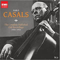 Pablo Casals: The Complete EMI Recordings(9枚組)のAmazonの商品頁を開く