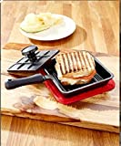 6 in Panini Cast IronパンサンドイッチLodge朝食Fry Mini Baking Bread with押しPie Roasting Pancake料理鍋キッチングリルCheapツー..