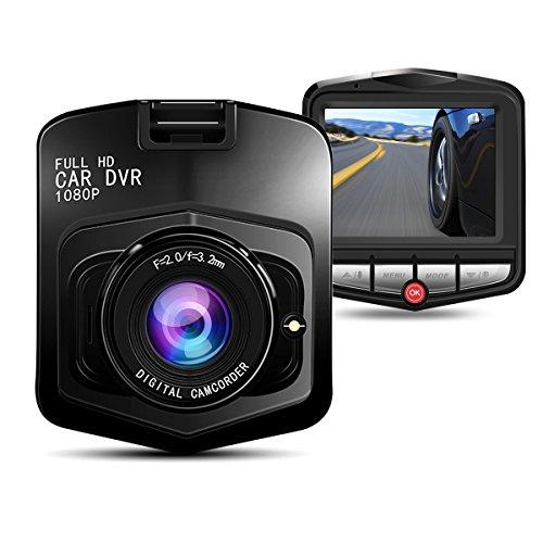 リスネコ(Lisnec) ドライブレコーダー ドラレコ 車載カメラ フルHD1080P カーカメラ HDR+Gセンサー ループ録画 動体感知 駐車監視モード