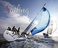 Sailing 2020: Segelkalender und Naturkalender ueber den Sport des Segelns. PhotoArt Kalender. Quer-format: 55 x 45,5 cm