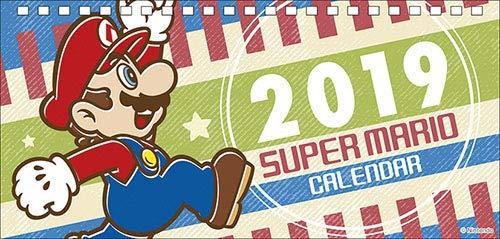 エンスカイ スーパーマリオ 2019年卓上カレンダー