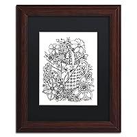 """商標Fine Art Flowers in Water Can by kcdoodleart 11x14"""" ALI3544-W1114BMF"""