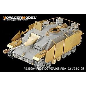 WWⅡ ドイツ軍 Ⅲ号突撃砲G型後期型用 [PE35294] 1/35 WWII German StuG.III Ausf.G Late Producti...