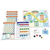 NewPath Learning NP-236922 Math Learning Centers Hundred Counting Chart (Pack of 4) [並行輸入品]