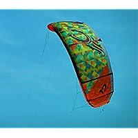 ラミネート27 x 24ポスター: Kite KitingカイトサーフィンKitesurferスポーツスカイカイト風Kiteboarding Kitersサーフ海サーフィン夏レクリエーションスポーツトレンドスポーツ