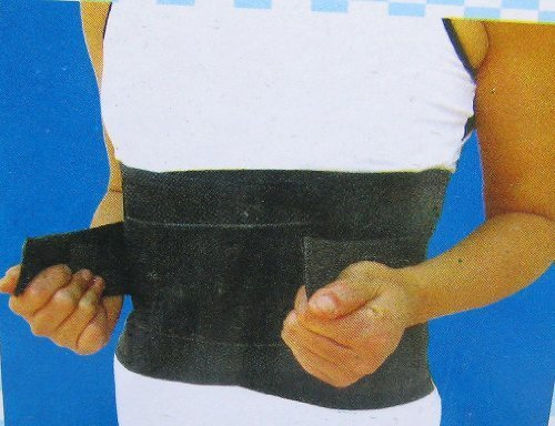 通気性抜群 プレート入リ コルセット 腰痛ベルト メッシュタイプ L XLサイズ選択可能 (L(ウエスト約60~80cm 女性にオススメ))
