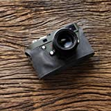 cam-in (カムイン) カメラケース ライカ LEICA M、M-P (Typ 240)用 イタリアンレザー (CA025シリーズ(ダークグレー))