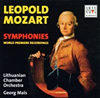 Mozart, Leopold: Symphonies