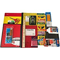 Back to School SuppliesバンドルIncludes Crayolaマーカー/色鉛筆/クレヨン、Elmers接着剤/接着剤スティックコンポジションブック、ワイドルールド、鉛筆ボックス、5つ星フォルダand More。