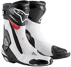 Alpinestars アルパインスター SMX Plus Boots 2015モデル ブーツ ブラック/ホワイト/レッド 38(約24cm)