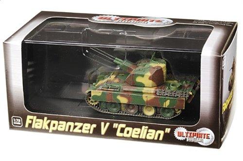 1:72 ドラゴンモデルズ アーマー コレクター シリーズ 60525 MAN Sd.Kfz.171 Flak装甲車 V Coelian ディスプレイ モデル ドイツ軍 ドイツ 1942【並行輸入品】
