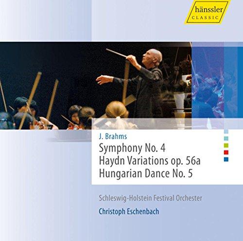 ブラームス:交響曲第4番、ハイドンの主題による変奏曲、ハンガリー舞曲 (J. Brahms : Symphony No. 4, Haydn Variations op. 56a, Hungarian Dance No. 5 / Christoph Eschenbach (cond))