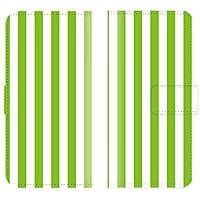 【 ankh 】 手帳型ケース 全機種対応 【 Fx0 LGL25 Fx0 エルジーエル25 専用 】 ストライプ 柄 stripe 線 線細 かわいい かっこいい ボーダー シンプル ブック型 二つ折り レザー 手帳カバー スマホケース スマートフォン