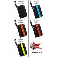 TARGET ダーツケース MONTANA WALLET(モンタナウォレット) F,ブラック×オレンジ F,ブラック×オレンジ