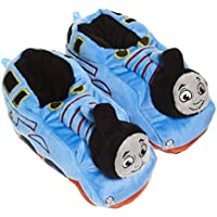 Jump Plush Thomas and Friends Toddler Slippers for Kids; Boys Slippers Character Shoe