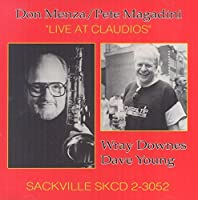 Live at Claudio's by DON / MAGADINI,PETE MENZA (2015-05-03)