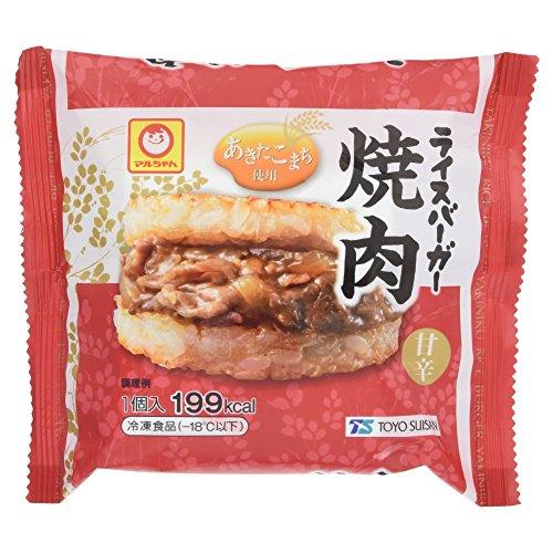 [冷凍] マルちゃん ライスバーガー焼肉 120g