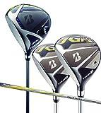 BRIDGESTONE GOLF(ブリヂストンゴルフ) TOUR B JGR レフトハンド ウッド3本セット(ドライバー・W3・W5) (TG1-5, S)