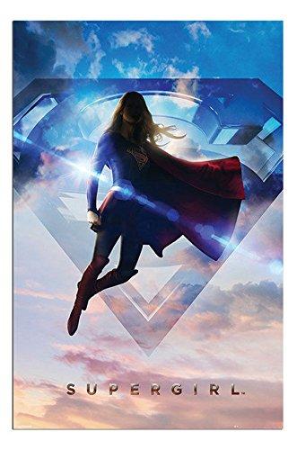 UK版ポスター スーパーガール Super Girl メリッサ・ブノワ uk1 [並行輸入品]