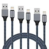 【2M+2M+2M 】ライトニングケーブル Everdigi USBデータ転送対応 高耐久素材 iPhone X iPhone 8 iPhone/iPad / iPod各種対応