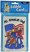 Crunchkins Edible Crunch Card, All American Dog by Crunchkins