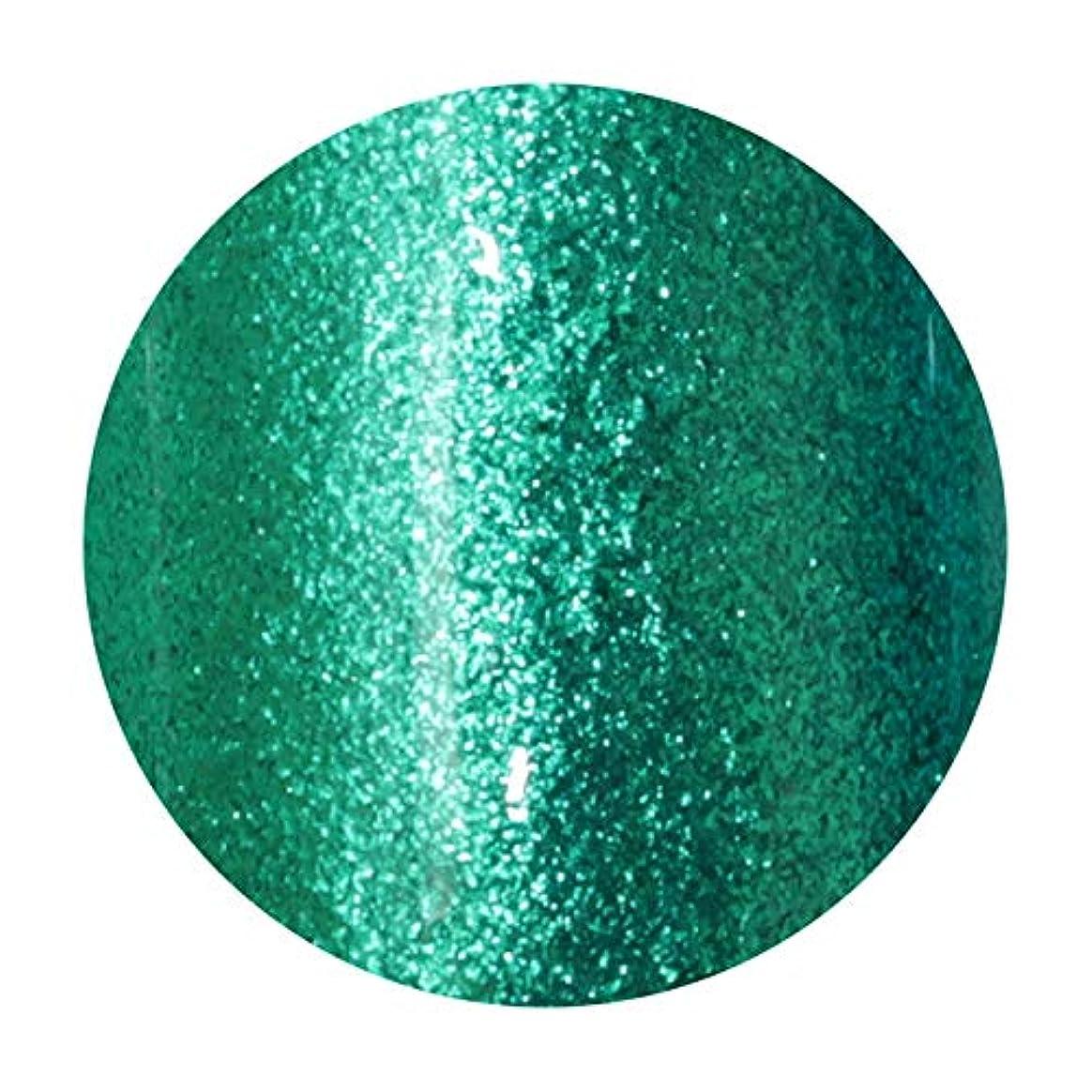 晩ごはん歩道縞模様のT-GEL COLLECTION ティージェル カラージェル D216 メタルグリーンEX 4ml