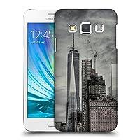 オフィシャル Haroulita NY Manhattan ブラック&ホワイト Samsung Galaxy A3 専用ハードバックケース
