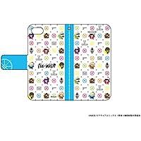 手帳型スマホケース iPhone5/5s/SE専用 青春×機関銃 07/モノグラム