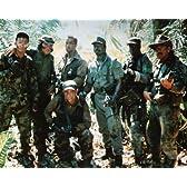 ブロマイド写真★『プレデター』ジャングルの特殊部隊7人/アーノルド・シュワルツェネッガー