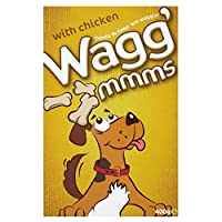 Wagg 'mmms with Chicken (400g) 鶏肉とwagg 「 Mmmを( 400グラム)