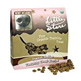 Wet Noses All Natural Dog Treats 545406 Wet Noses Stars Peanut butter Training Treat for Pets, 9-Ounce by WET NOSES ALL NATURAL DOG TREATS