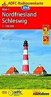 ADFC-Radtourenkarte 1 Nordfriesland /Schleswig 1:150.000