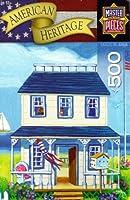"American Heritage 500pcパズル""ビーチコテージ"" by Geraldine Aikman"